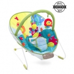 Comfy Bouncer With Music & Calming Vibrations Animal Print