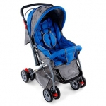 Cosy Cosmo Stroller With Reversible Handle & Back Pocket