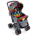 Babyhug Cosy Cosmo Stroller With Reversible Handle & Back Pocket