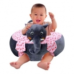 Babymoon Baby Sofa Chair Plush Portable Protective Couch – Elephant