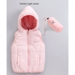Babyoye Sleeveless Poly Nylon Feather Light Jacket