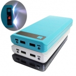 Bakeey Type C USB Input 8 x 18650 2000mA Power Bank