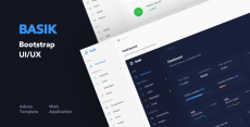 Basik – Responsive Bootstrap Web Application and Admin Template