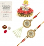 Rakhi, Chawal Roli Pack, Greeting Card, Showpiece Set