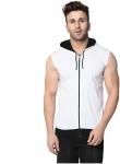 Bi Fashion Men Cotton Sweatshirt – White