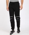 Only at Rs. 569 Perfect Fit Solid Men Black Track Pants