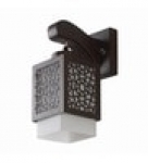 Black Wood Wall Lights by LeArc Designer Lighting