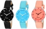 Attractive COMBO set of-3 Analog Watch