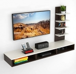 Bluewud Primax TV Entertainment Set Top Box Stand