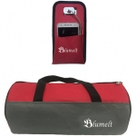 Blumelt Gym Bag and Mobile Charging Pouch Combo