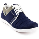 Brawo Men's Navy Blue casual shoe