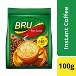 Only at Rs. 175 Bru Instant Coffee, 100g
