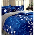 BSB Trendz Polycotton Double Bedsheet With 2 Pillow Covers 90×100 Inches Pillow 17×27 180 Tc 3D