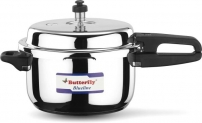 Butterfly Friendly 2 L, 3 L, 5 L Pressure Cooker