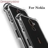 Case For Nokia Plus Phone Case Clear Cover Shockproof Silicone Transparent Cases