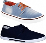 Chevit  Combo Pack of 2 Casual Shoes Sneakers For Men