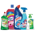 Cleaning Kit- Harpic Original 1L + Lizol Floral 2L + Colin 500ml + Dettol Handwash Original 200ml + Dettol Kitchen Gel