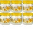 Container Set – 250 ml Plastic  (Pack of 6, Yellow)