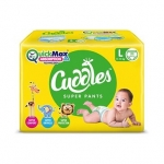 Cuddles Pant Style Diapers Large – 62 pieces
