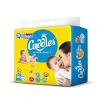 Cuddles Pant Style Diapers Medium – 74 Pieces