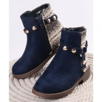 Cute Walk by Babyhug Party Wear Ankle Length Boots Bow