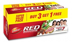 Only at Rs. 191 Dabur Red Paste, 600g (Buy 3 Get 1 Free)