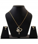 Darshini Designs butterfly pendant set