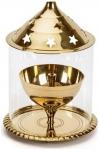 Decorate India Brass Small Diya 4 inch