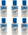 DERMEASE Hand Sanitizer with 100% Gauranteed Germ Free Hand Pack Of 6