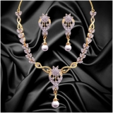 Dg Jewels Classic Pearl Necklace Set