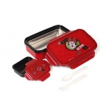Disney Minnie Mouse Lunch Box With Spoon And Fork