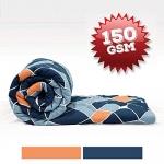 Divine Casa Imperial Geometric Microfibre Single Comforter