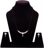 Alloy Jewel Set  (Gold, White)