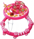 Amardeep Musical Activity Walker  (Pink)