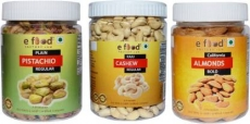 Plain Pista Regular,Cashew Regular&Almonds Bold