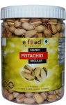 e food factory Salted Pista Regular (500) In Pet Jar Pistachios