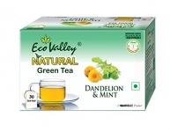 Eco Valley Natural Green Tea, Dandelion and Mint
