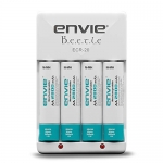 ENVIE Charger for AA & AAA Rechargeable Batteries