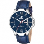 Espoir Analogue Blue Dial Day and Date Men's Boy's Watch