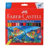 Faber-Castell Water Color Pencils with Paint Brush