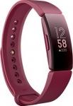 Fitbit Inspire  (Maroon Strap, Size : Regular)