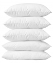 Tanishka Fabs Soft Touch Fibre Filled Pillow Set Of 5 (17×27 inch)