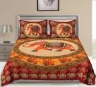 104 TC Cotton Double Animal Bedsheet