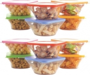 12 Pcs – 8400 ml Plastic Grocery Container, Fridge Container