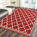 Red Chenille Carpet  (136 cm X 180 cm) only at rs. 499