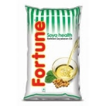 Fortune Soyabean Oil, 1L Pouch, odourless, and healthy oil