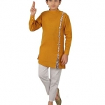 Only at Rs. 909 Full Sleeves Kurta With Trousers ,Pajama