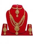 Fully Women Fashion Necklace Jewelery Set, 75 Grams