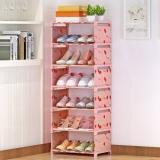 FurnCentral Metal Shoe Stand
