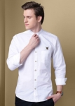 Only at Rs. 474 Men Solid Casual Mandarin Shirt